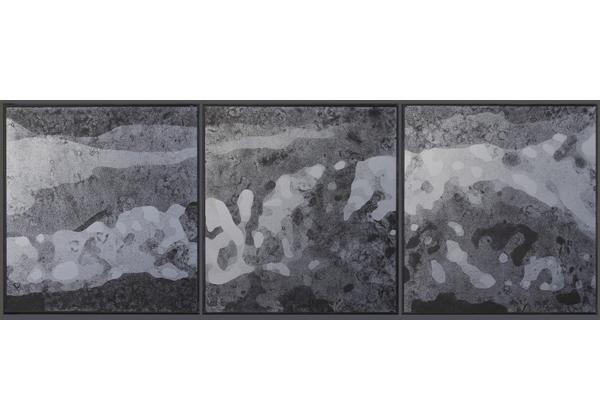 Mount Faloria triptych (mirror) 2012