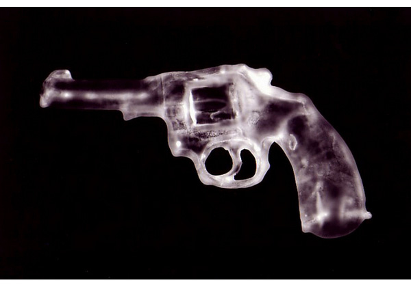 Revolver (Integumentum gun). 2001. Photogram.